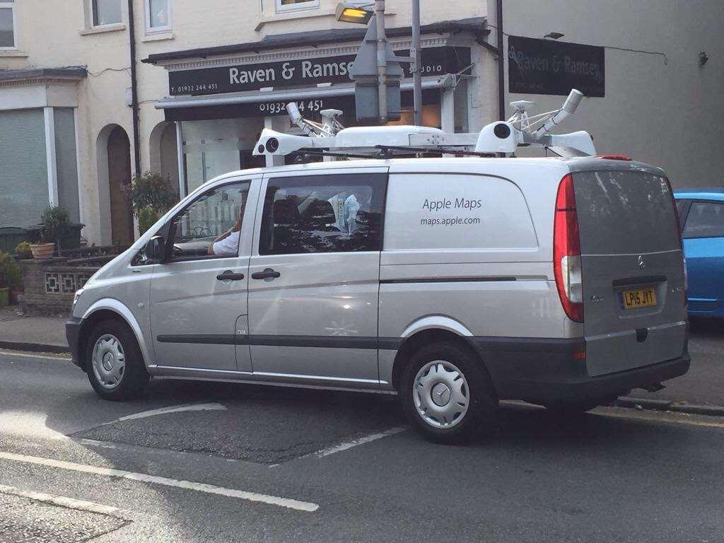Apple Maps auto voor Street View - aanzet voor Apple Search?