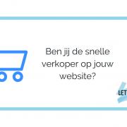 Overdonder jij jouw bezoekers met verkooptechnieken? Ben jij de snelle, gladde verkoper op jouw website?