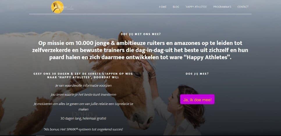 Een WordPress website uit een challenge: design is niet alles.