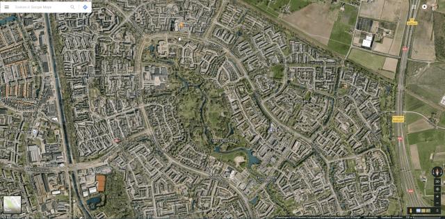 Google Earth beelden vanuit Google Maps