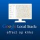 De Google Local Stack: het effect op de kliks naar jouw website