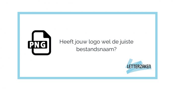 Heeft jouw logo wel de juiste bestandsnaam? Check het zelf en los het op