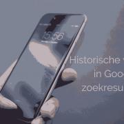 Historische wijziging in Google zoekresultaten - mobiele website belangrijker dan ooit