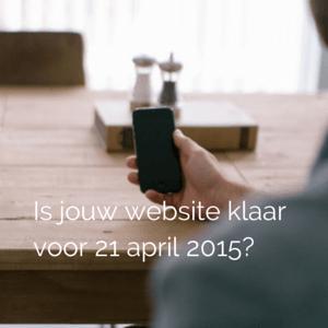 Is jouw website mobielvriendelijk?