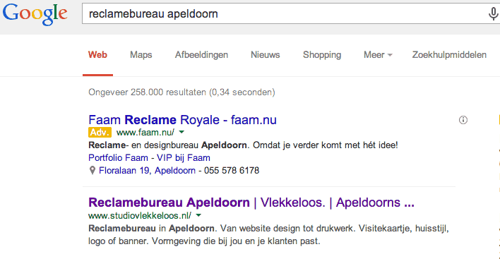 Paginatitels in zoekresultaten na update Google maart 2014