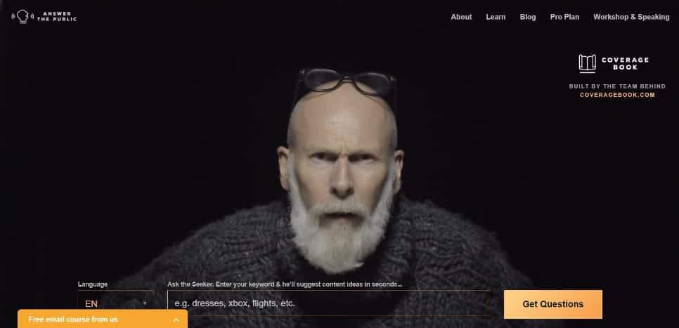 Ik vind deze Pierr Kartner look-alike op answerthepublic.com behoorlijk irritant