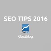 SEO tips 2016
