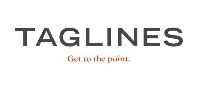 Tagline voor je website