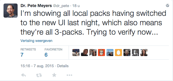 Tweet Dr. Pete Meyers Local Stack 7 augustus 2015