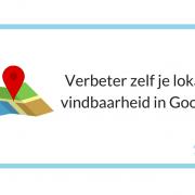 Verbeter zelf je lokale vindbaarheid in Google