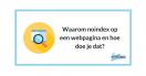 Waarom noindex op een webpagina en hoe doe je dat?