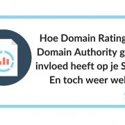 Hoe Domain Rating of Domain Authority geen invloed heeft op je SEO. En toch weer wel.