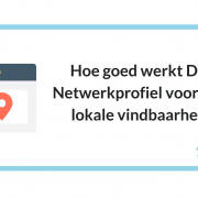 Hoe goed werkt DTG netwerkprofiel voor jouw lokale vindbaarheid?