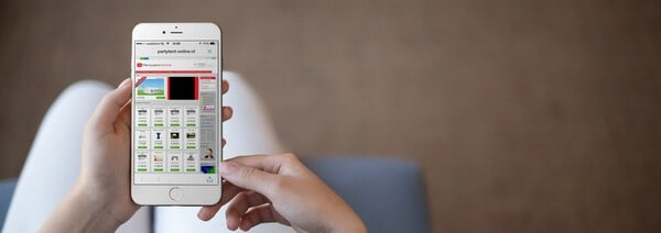 Een niet-mobielvriendelijke website kan echt niet meer