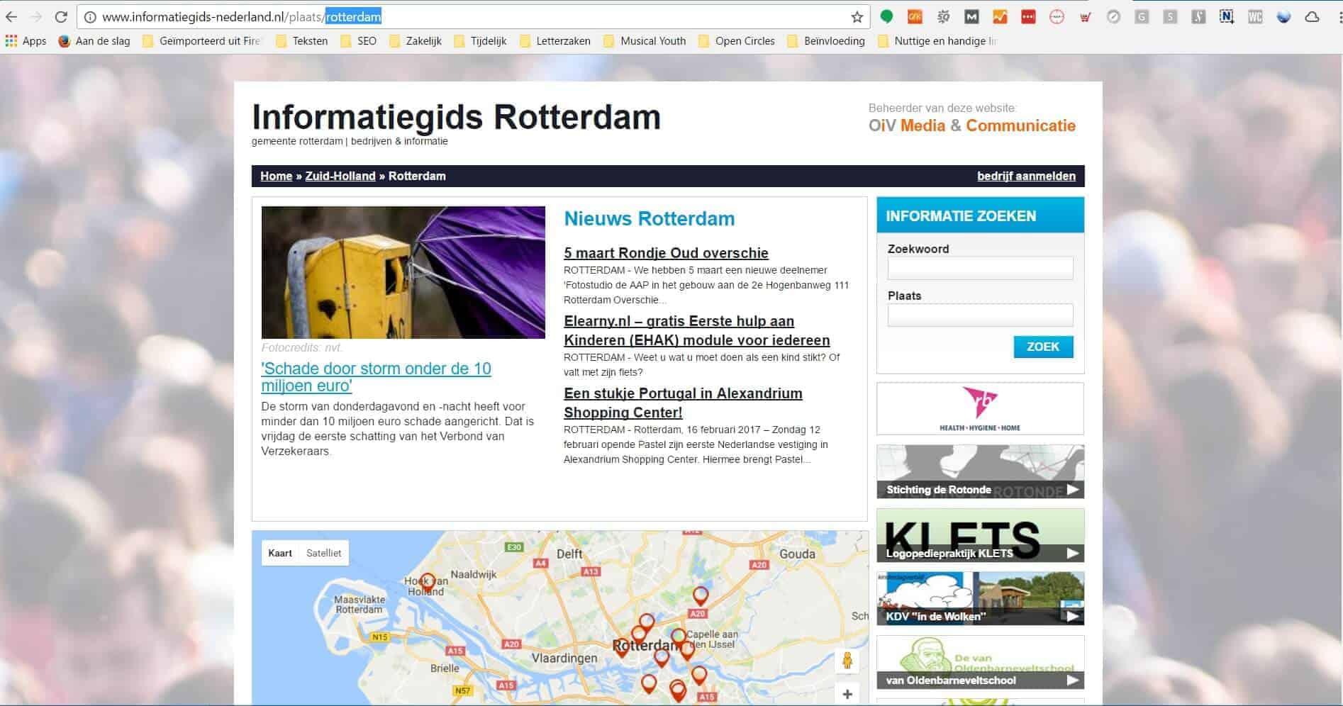 informatiegids-nederland voor Rotterdam van OiV Media en Communicatie