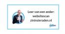 Leer van een ander: websitescan zininsieraden.nl