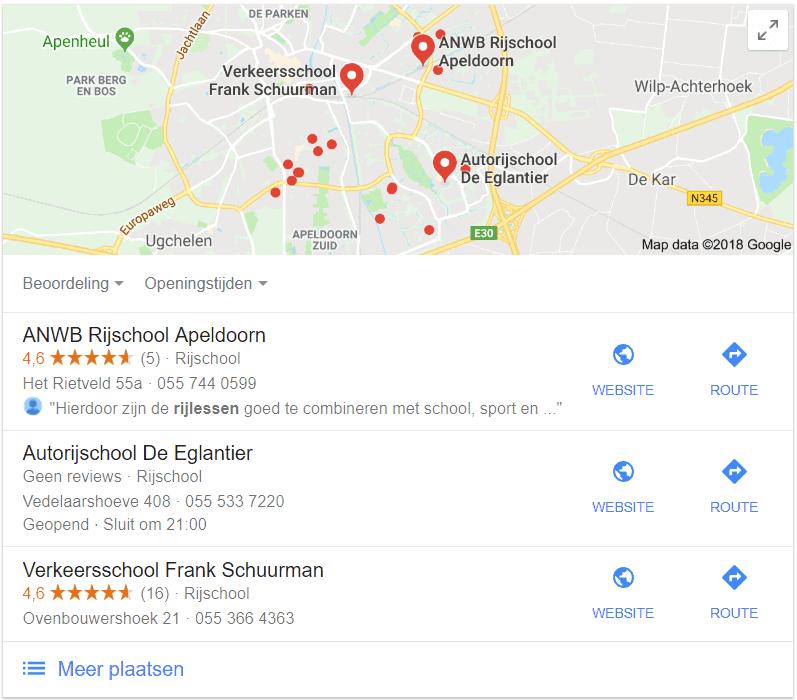 Lokale SEO: ook voor je vermelding in de Local Pack