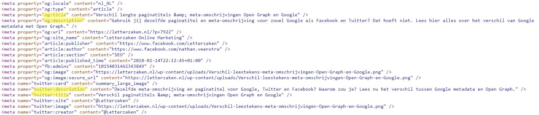 og: title en og: description en twitter title en description in broncode - open graph metadata