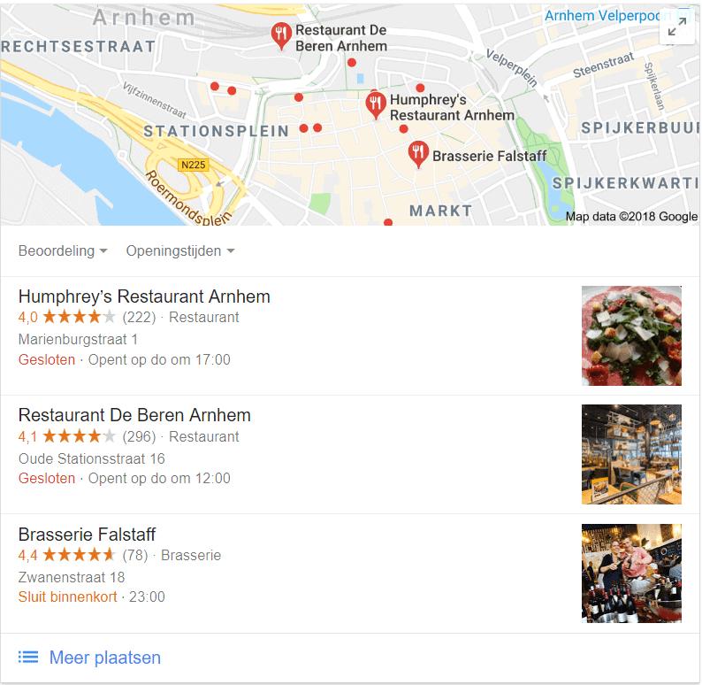 De restaurants in Arnhem hebben allemaal behoorlijk veel en goede recensies. Welke zou jij kiezen?