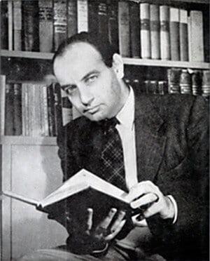 Rudolf Flesch, de bedenker van de Flesch Reading Ease test.