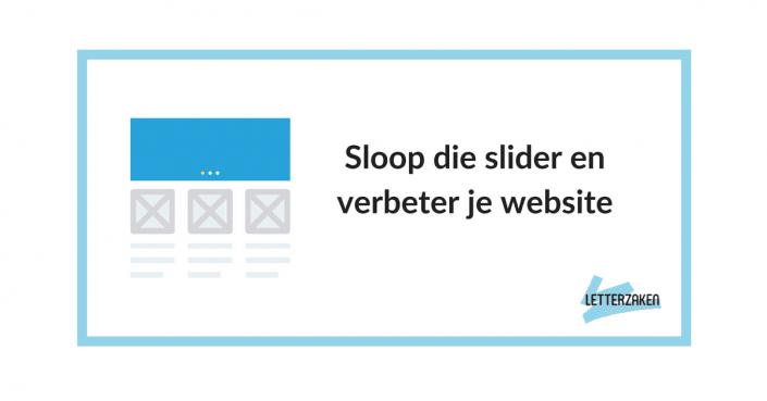 Sloop die slider en verbeter je website