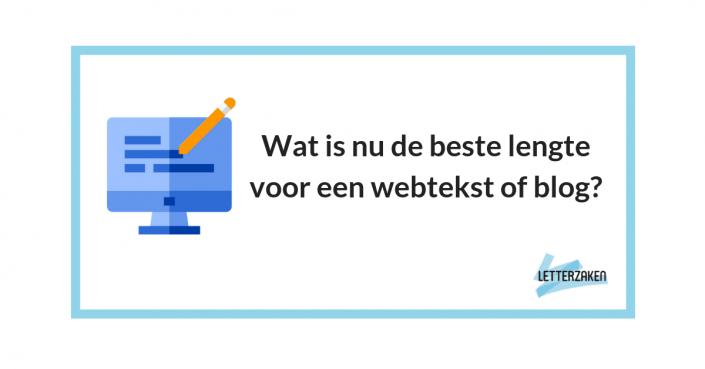 Wat is nu de beste lengte voor een webtekst of blog
