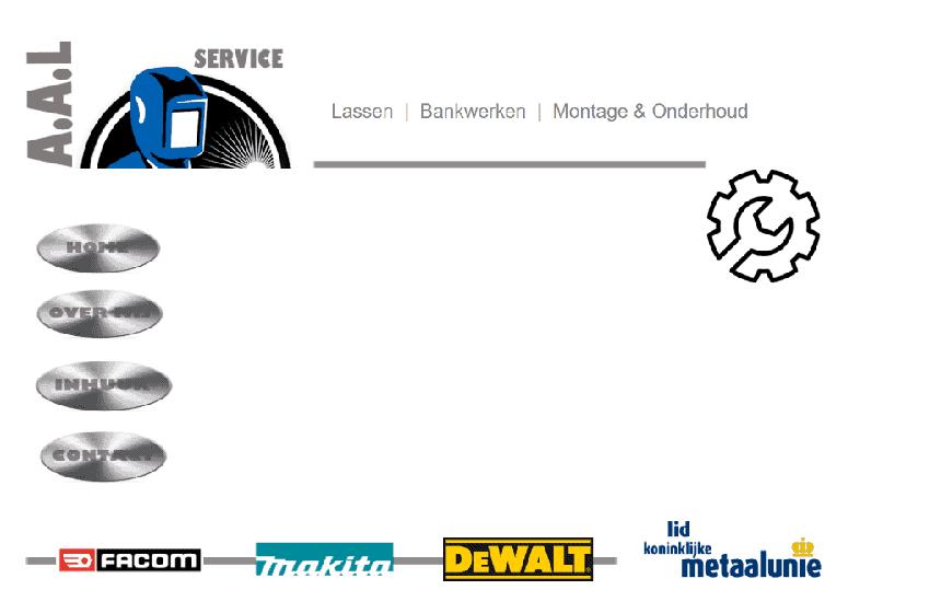 Terug in de tijd met een website die nogal achterhaald design heeft.